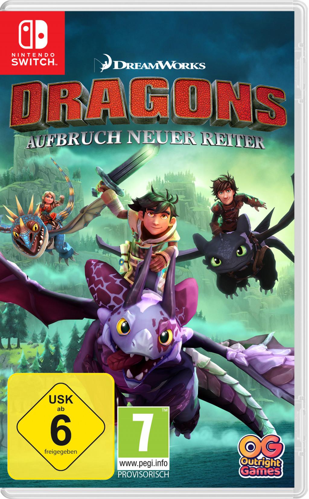 Dragons Aufbruch neuer Reiter